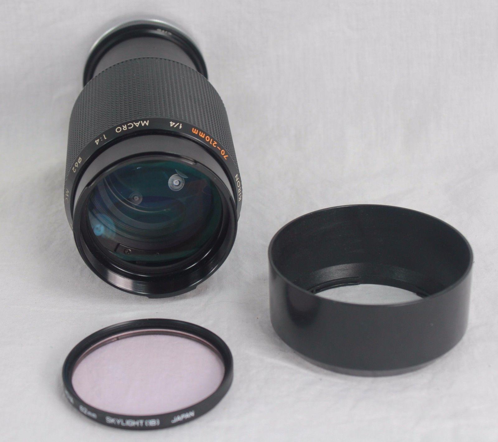 Vivitar Lenses Kiron 70-210mm Albinar ADG and 50 similar items