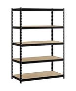 5 Tier 'Dexion Like' Steel Industrial Business Garage Warehouse Shelving... - $88.11
