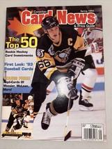 Spring 1993 Canadian Card News Mario Lemieux Mark Messier - $19.99