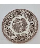 Vintage Queen's Fine Earthenware dinner plate. Made in Colombia. Diamete... - $16.00