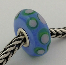 Authentic Trollbeads Ooak Murano Glass Unique Bead #76 Charm, New - $33.24