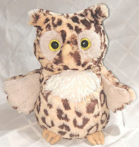 Mary Meyer Corporation 54710 10 Inch Leopard Wild Side Owl