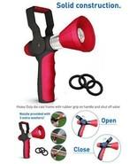 High Pressure Fire Hose Nozzle Water Sprayer Spray Gun Wash Car Lawn Gar... - $36.62