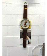 Mickey Mouse Walt Disney Original Vintage wall clock watch LORUS LFW618B - $116.88