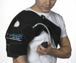 ThermoActive Cold and Hot Mobile Compression Therapy for the Shoulder: Left