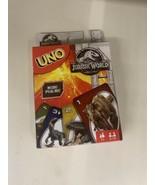 Uno Jurassic World LIMITED EDITION (FLK66) **Brand New Sealed** Rare - $29.99