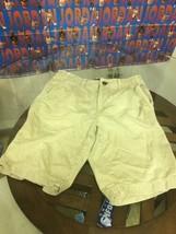 American Eagle Mens Longer Length Khaki Shorts Size 31 Good Condition - $13.85