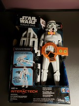 Star Wars Rogue One Imperial Stormtrooper Interactive Figure - $15.03