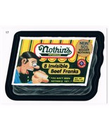 2005 Topps Wacky Packages Series 2 Nothin's Invisible Franks Trading Car... - $5.99