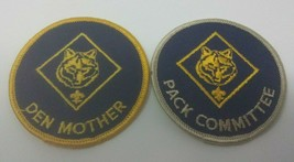 Boy Scouts Pack Committee & Den Mother Cub Scout Patches - $8.90