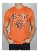 Originale Junk Food Chicago Bears Calcio Uomo Kick Off Girocollo T Shirt S-2Xl - $30.43