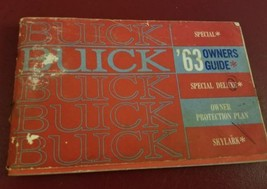 1963 Buick Special Skylark Owners Manual User Guide Red Handbook OEM - $17.45