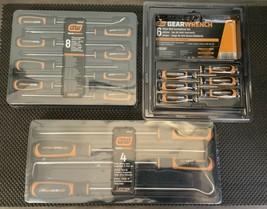 Gearwrench 8 Pc. Long Hook & Pick Set + 4pc HD XL Pick Set + Mini Screwdriver Se - $111.86