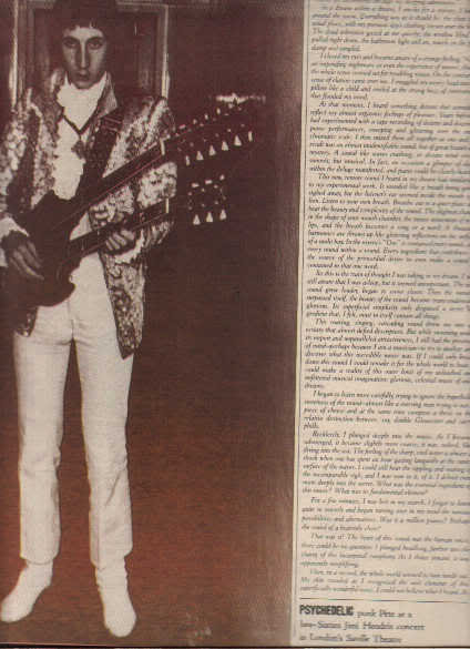* 1977 THE WHO PETE TOWNSHEND ARTICLE AD WRITE UP 6-PG