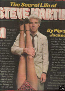 * 1978 STEVE MARTIN ARTICLE AD WRITE UP 4-PG