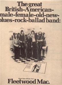 1975 FLEETWOOD MAC POSTER TYPE AD