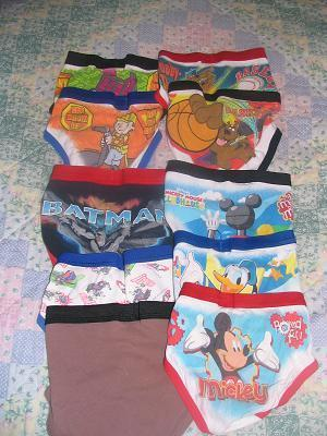 Boys 4T underwear 33 pair