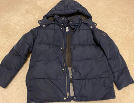 Gap Kids Boys Warmest Puffer Jacket Size XL Navy Blue - $32.71