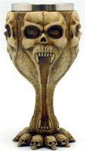 """6 1/2"""" Skull chalice Stainless Steel Insert - $29.99"""