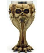 "6 1/2"" Skull chalice Stainless Steel Insert - $39.54 CAD"