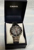 CASIO EDIFICE EQW-M1100 analog watch working men boxed + manual + links - $239.45
