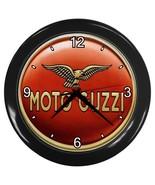 New Wall Clock Moto Guzzi Logo - $16.50