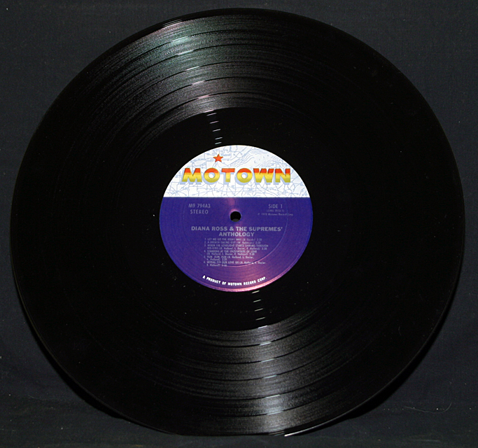 """Diana Ross and the Supremes  """"Anthology""""   Motown Records M9-794A3  LP"""