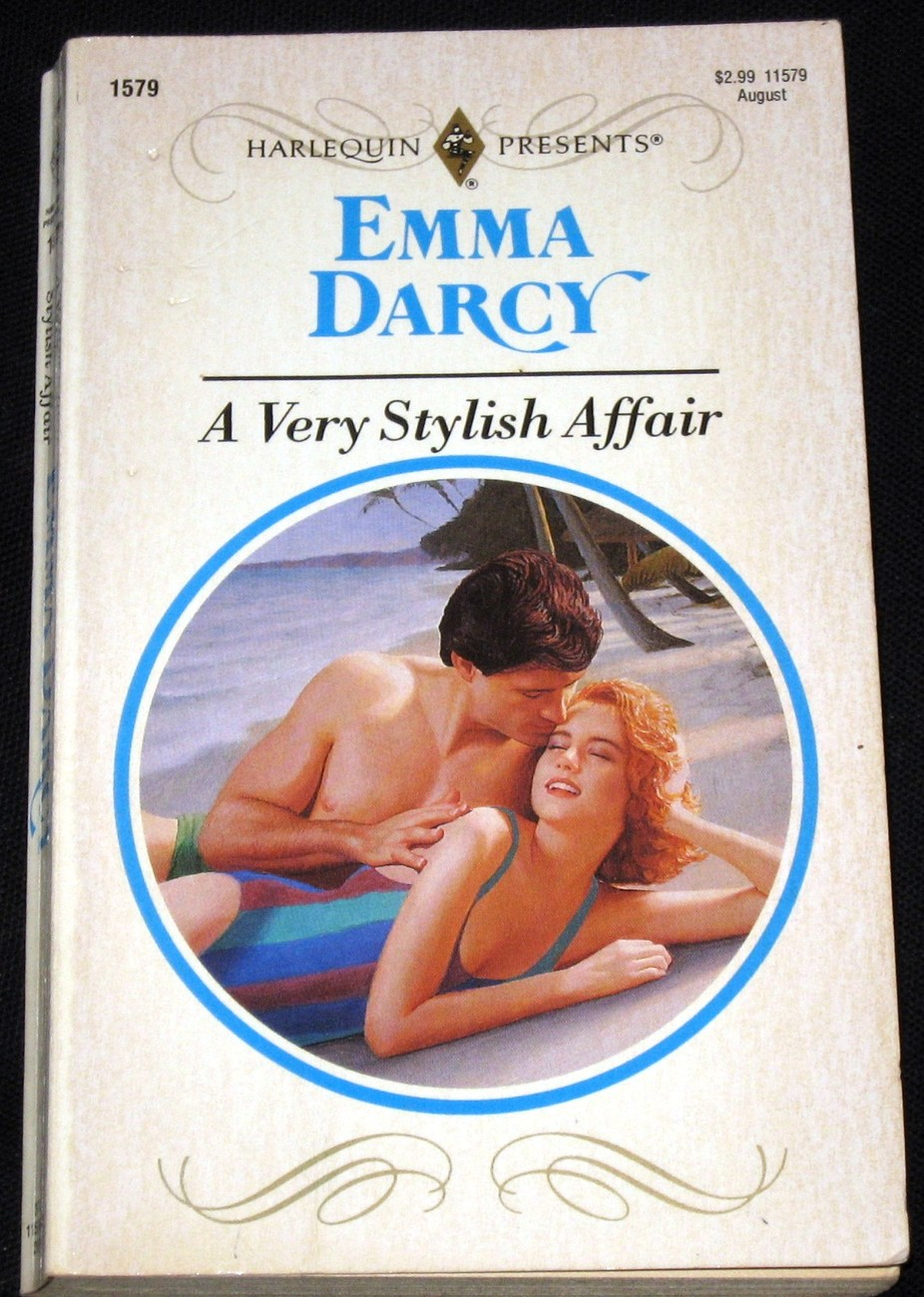 A Very Stylish Affair by Emma Darcy (1993) Harlequin PB
