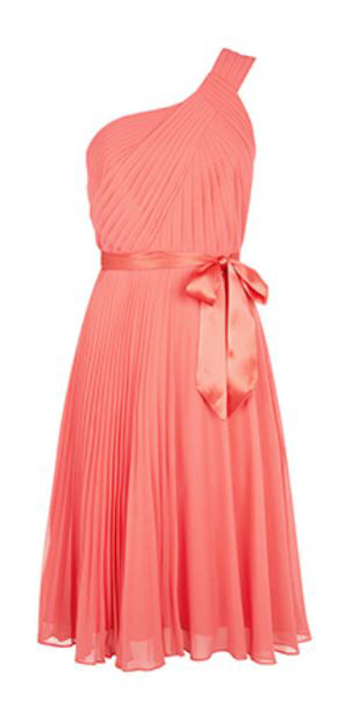 MONSOON Freya Coral Dress BNWT image 4