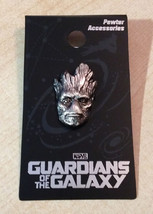 Guardians of the Galaxy - Groot Head Pewter Pin - IN STOCK Ready to Ship! - $9.87