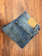 AMERICAN EAGLE Relaxed Straight Classic Blue Denim Jeans Men's Size 31 W... - $508,21 MXN