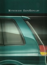 1992 Mitsubishi EXPO sales brochure catalog US 92 LRV AWD SP - $8.00