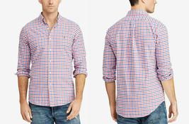 Polo Ralph Lauren Men's Classic Fit Plaid Oxford Shirt, Size XL, Blue ,M... - $49.49