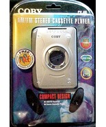 AM/FM Stereo Cassette Player by Coby CX49 ( Personal ) - $19.00