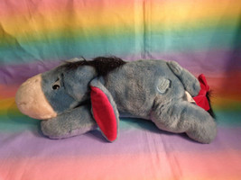"Disney Store Exclusive Authentic Original Soft Eeyore Bean Bag Plush 16"" - $19.75"