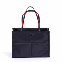NEW KATE SPADE Watson Lane Varsity Stripe MEGA SAM BAG pxru9452 - $99.99