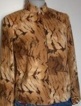 Tan Wild Western Rail Halter Horse Show Hobby Jacket Sz 10 Apparel Cloth... - $55.00
