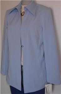 Baby Blue Western Rail Halter Horse Show Jacket 11/12