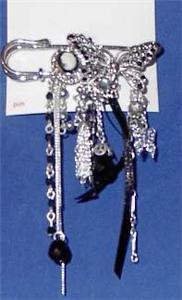 Butterfly Lady Horse Show Jewelry Pin Brooch SHOWTIME!