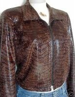Animal Print Rail Western Halter Horse Show Jacket 6