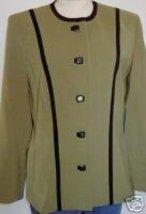 Green & Black Western Halter Horse Show Jacket 10 - $40.00