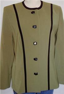 Green & Black Western Halter Horse Show Jacket 10