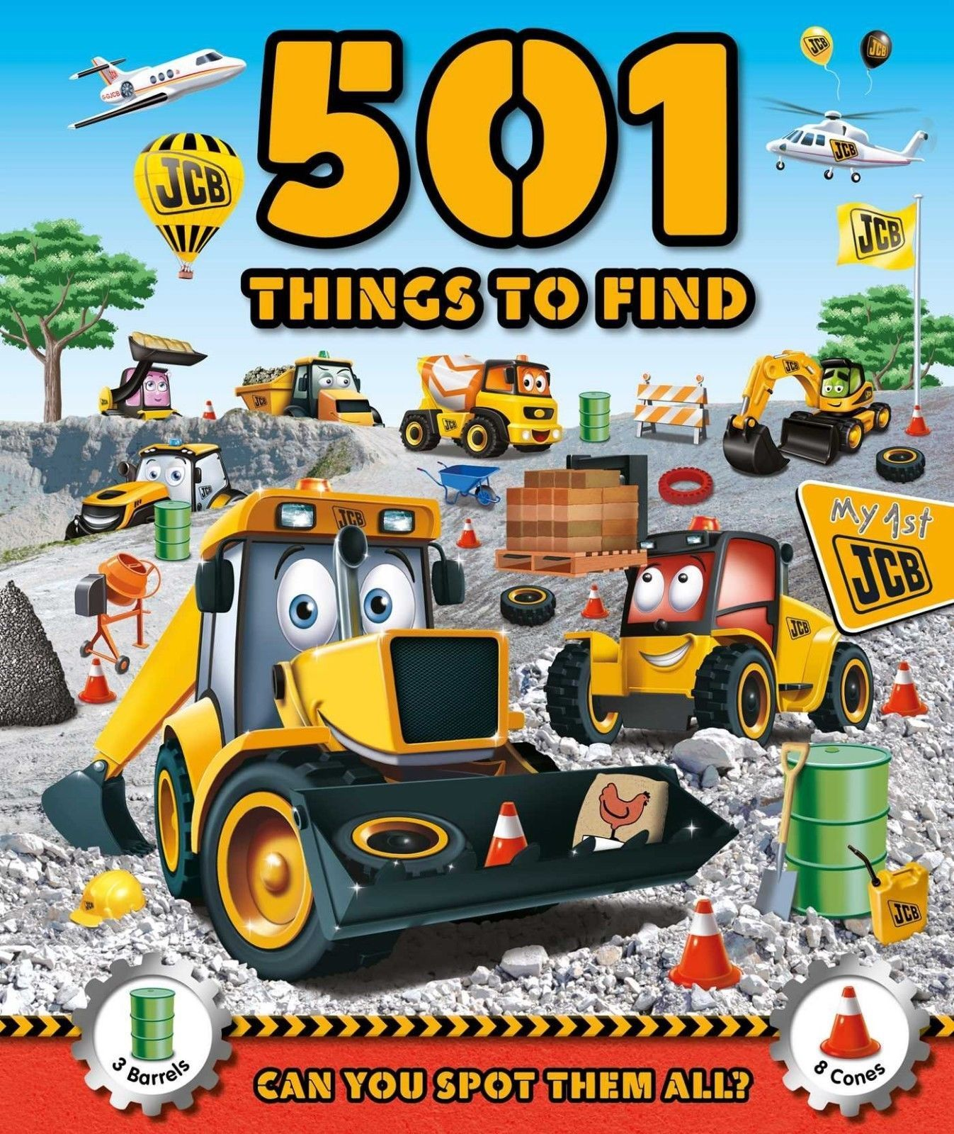 Primary image for 501 Things to Find: Can You Spot Them All? Hardcover 2015 NEW