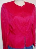 Hot Pink Rail Western Rodeo Halter Horse Show Jacket 6