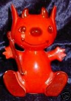 Little Red Devil Retro Vintage Ceramic Coin Bank Banks