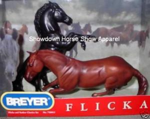 Flicka & Yankee Breyer Two Horse Set 750013 Classic Sz