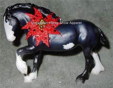 CM Breyer Horse Paddock Pals Draft Pinto Paint Ornament