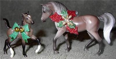 CM Breyer Horse Stablemate Arabian Rose Grey Mare Foal