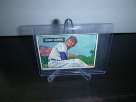1951 Bowman Gum Baseball Card #69 Johnny Schmitz Trading Card Good Condi... - $8.90