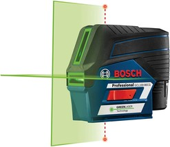 Bosch GCL100-80CG 12V Green Beam Connected Combination Laser Kit NEW - $309.98